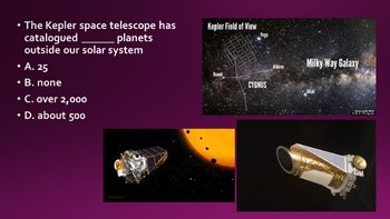 Space Science Starter Questions