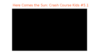 Space Science: The Sun and Its Influence on Earth: Crash Course Kids Series