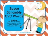Space Scramble: CVC Word