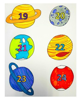 Space Seat Numbers