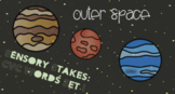 Space Sensory Stakes: CVC Words Set 1