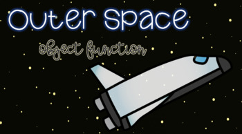 Space Sensory Stakes: Object Function