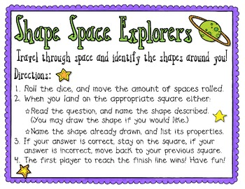 Space Shape Explorers