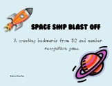 Space Ship Blast Off - A Counting Down from 30 Game