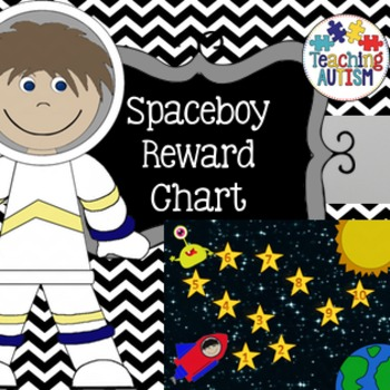 Space Boy Reward Chart