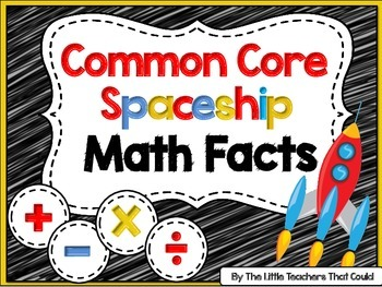 Space Ship Math Facts