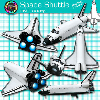 Space Shuttle Clip Art {Science Photos for Solar System & Astronomy Lessons}
