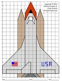 Space Shuttle, Coordinate Graphing, Coordinate Drawing