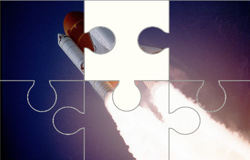 Space Shuttle Digital Puzzle VIPKID