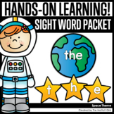 Space Sight Word Packet