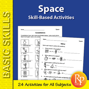 Space: Skill-Based Activities for Grades 3-4