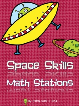 Space Skills Math Stations