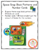 Space Snap Block Patters and Number Cards