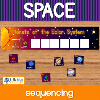 Space - Solar System sequencing activity