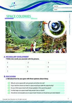 Space - Space Colonies - Grade 11