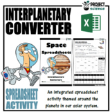 Space Spreadsheets Interplanetary Converters