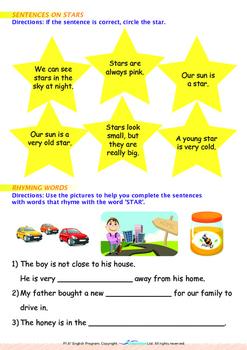 Space - Stars (I) - Grade 1