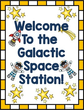 Space Station Dramatic Play Set