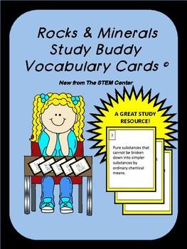 Space Study Buddy Vocabulary Cards