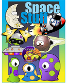 Space Stuff - Unique Space Related Clip Art Pack