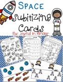 Space Subitizing Cards