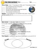 Space - Sun, Moon, Earth Properties Assessment