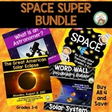 Space Super Bundle:  Solar System, Eclipse, Astronomer