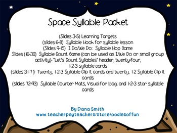 Space Syllable Packet