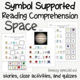 Space - Symbol Supported Picture Reading Comprehension for
