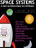 Space Systems Pack {NGSS First Grade Science} Predictable
