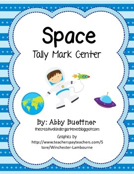 Space Tally Mark Math Center