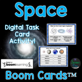 Space Task Cards - Distance Learning Compatible Digital Bo