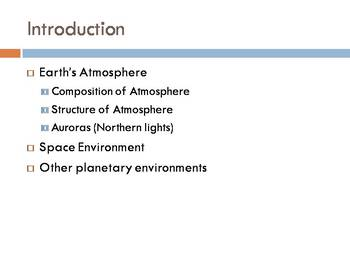 Space Technology & Engineering - Flight Environments