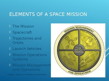 Space Technology & Engineering - Elements of a space mission