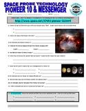 Space Technology Probes : Pioneer 10 & MESSENGER (webquest)