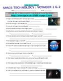 Space Technology Probes : Voyager 1 & 2 (webquest / NASA / STEM)