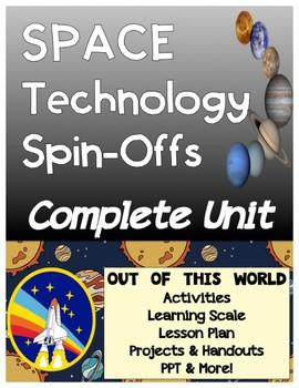 Space Technology Spinoffs by NASA Mini-Unit Bundle