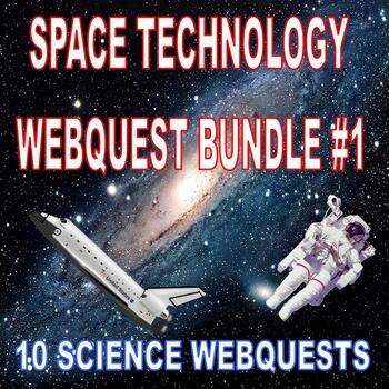 Space Technology Webquest Bundle 1