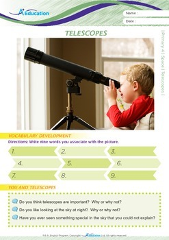 Space - Telescopes - Grade 4