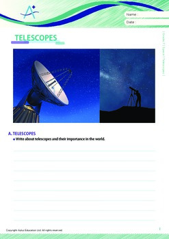 Space - Telescopes - Grade 7