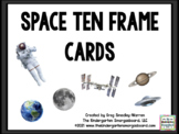 Space Ten Frame Cards