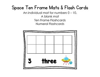 Space Ten Frame Mats