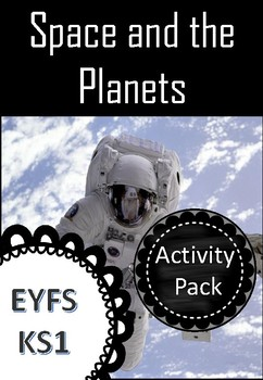 Space and The Planets Activity Pack