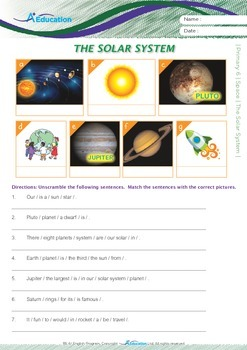 Space - The Solar System - Grade 6