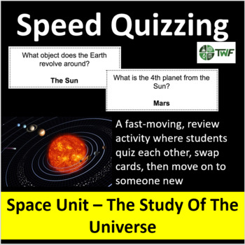 Space: The Study of the Universe - Speed Quizzing