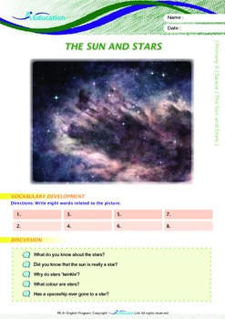Space - The Sun and Stars - Grade 6