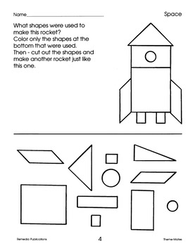 Space: Thematic Skill-Based Activities for Grades 1-2