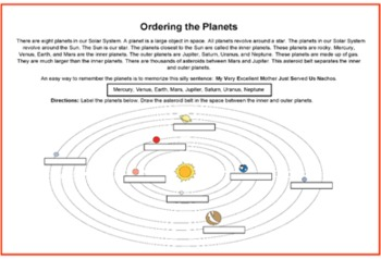 Space Thematic Unit for Grades K-1-2