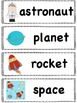 Space Themed Literacy and Math Activities