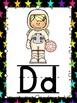 Space Theme Alphabet Cards